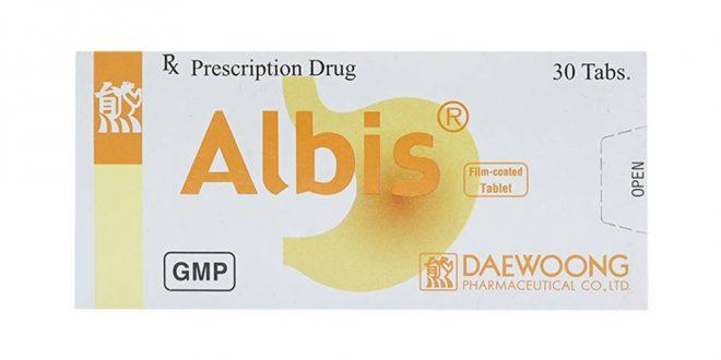 Thuốc albis là thuốc gì? có tác dụng gì? giá bao nhiêu tiền?