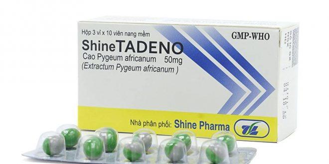 Thuốc shine tadeno 50mg là thuốc gì? có tác dụng gì? giá bao nhiêu tiền?