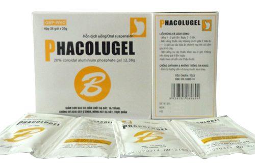 Thuốc phacolugel 20g là thuốc gì? có tác dụng gì? giá bao nhiêu tiền?