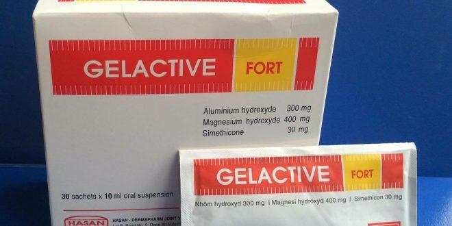 Thuốc gelactive fort là thuốc gì? có tác dụng gì? giá bao nhiêu tiền?