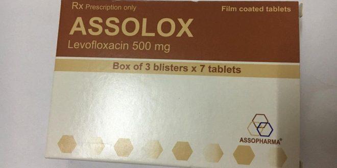 Thuốc assolox 500mg là thuốc gì? có tác dụng gì? giá bao nhiêu tiền?