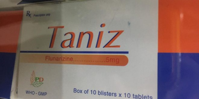 Thuốc taniz 5mg là thuốc gì? có tác dụng gì? giá bao nhiêu tiền?