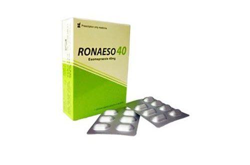 Thuốc ronaeso 40 là thuốc gì? có tác dụng gì? giá bao nhiêu tiền?