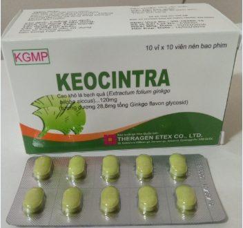 Thuốc keocintra 120mg là thuốc gì? có tác dụng gì? giá bao nhiêu tiền?