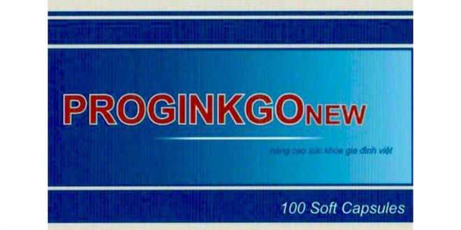 Thuốc proginkgo new là thuốc gì? có tác dụng gì? giá bao nhiêu tiền?