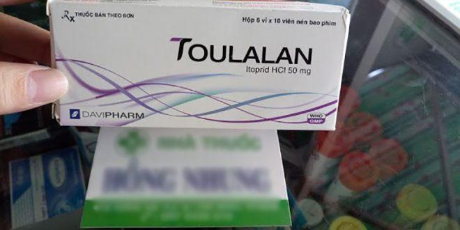 Thuốc toulalan 50mg là thuốc gì? có tác dụng gì? giá bao nhiêu tiền?