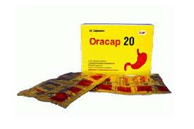 Thuốc oracap 20 là thuốc gì? có tác dụng gì? giá bao nhiêu tiền?