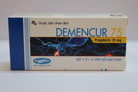 Thuốc demencur 75mg là thuốc gì? có tác dụng gì? giá bao nhiêu tiền?