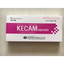 Thuốc kecam 1ml là thuốc gì? có tác dụng gì? giá bao nhiêu tiền?