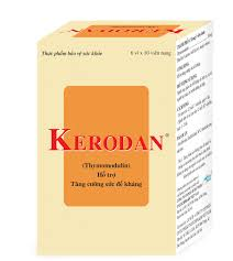 Thuốc kerodan là thuốc gì? có tác dụng gì? giá bao nhiêu tiền?