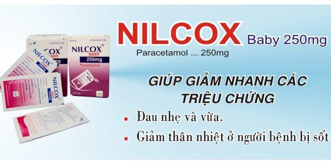 Thuốc nilcox baby fort 250/2mg là thuốc gì? có tác dụng gì? giá bao nhiêu tiền?