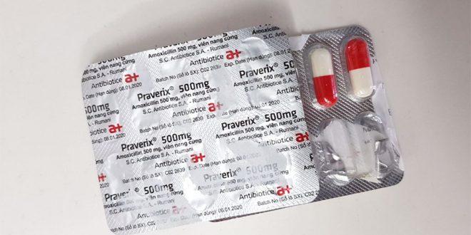 Thuốc praverix 250mg là thuốc gì? có tác dụng gì? giá bao nhiêu tiền?