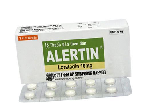 Thuốc alertin 10mg là thuốc gì? có tác dụng gì? giá bao nhiêu tiền?