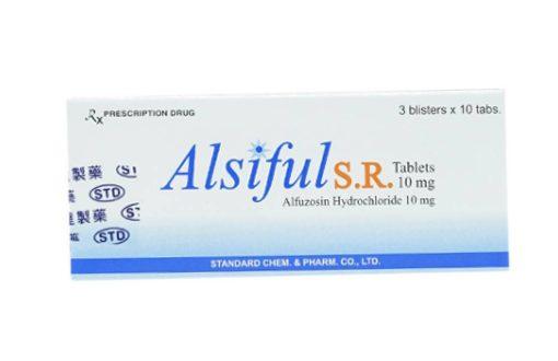 Thuốc alsiful s r 10mg là thuốc gì? có tác dụng gì? giá bao nhiêu tiền?