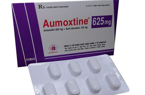 Thuốc aumoxtine 625 là thuốc gì? có tác dụng gì? giá bao nhiêu tiền?