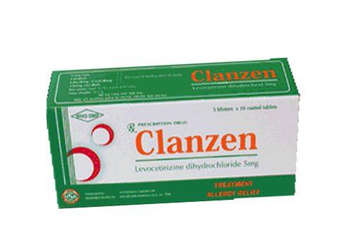 Thuốc clanzen 5mg là thuốc gì? có tác dụng gì? giá bao nhiêu tiền?