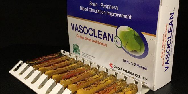 Thuốc vasoclean sol 10ml là thuốc gì? có tác dụng gì? giá bao nhiêu tiền?