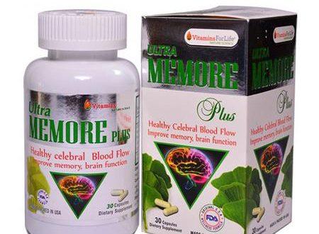 Thuốc memore plus là thuốc gì? có tác dụng gì? giá bao nhiêu tiền?