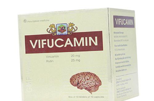 Thuốc vifucamin là thuốc gì? có tác dụng gì? giá bao nhiêu tiền?