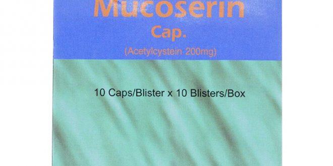 Thuốc mucoserin 200mg là thuốc gì? có tác dụng gì? giá bao nhiêu tiền?