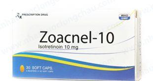 Thuốc zoacnel 10 là thuốc gì? có tác dụng gì? giá bao nhiêu tiền?