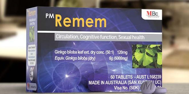 Thuốc remem 120mg là thuốc gì? có tác dụng gì? giá bao nhiêu tiền?