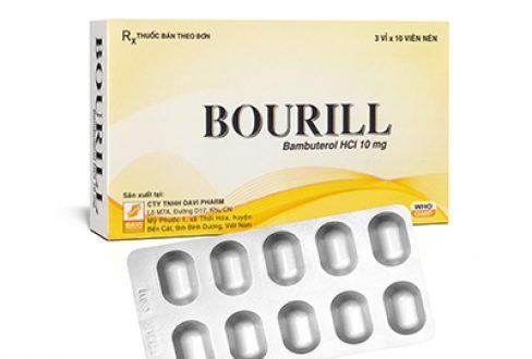 Thuốc bourill là thuốc gì? có tác dụng gì? giá bao nhiêu tiền?