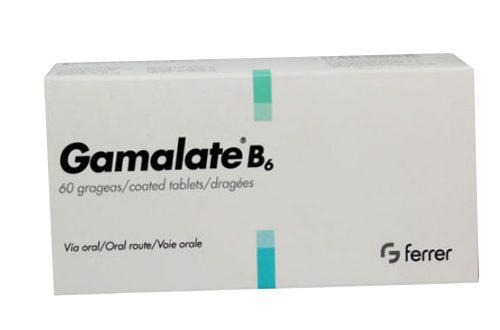 Thuốc gamalate b6 là thuốc gì? có tác dụng gì? giá bao nhiêu tiền?