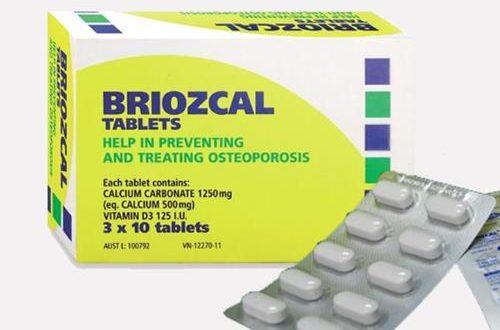 Thuốc briozcal là thuốc gì? có tác dụng gì? giá bao nhiêu tiền?