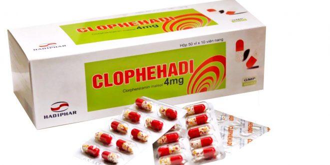 Thuốc clophehadi 4mg là thuốc gì? có tác dụng gì? giá bao nhiêu tiền?