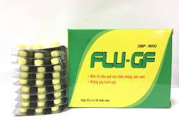 Thuốc flu-gf là thuốc gì? có tác dụng gì? giá bao nhiêu tiền?
