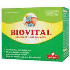 Thuốc biovital là thuốc gì? có tác dụng gì? giá bao nhiêu tiền?