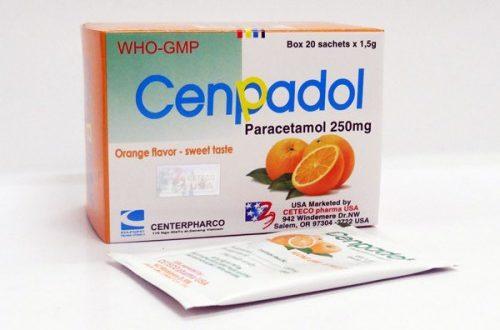 Thuốc cenpadol 250mg là thuốc gì? có tác dụng gì? giá bao nhiêu tiền?