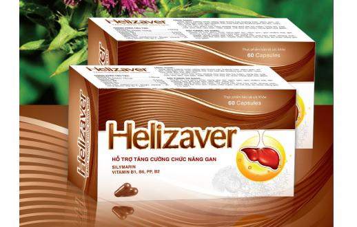Thuốc helizaver là thuốc gì? có tác dụng gì? giá bao nhiêu tiền?