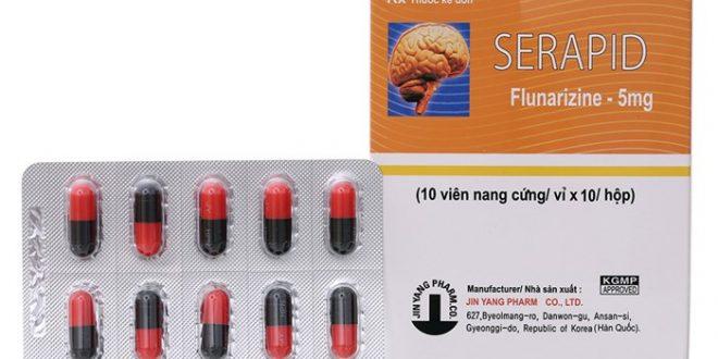 Thuốc serapid 5mg là thuốc gì? có tác dụng gì? giá bao nhiêu tiền?