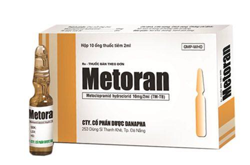 Thuốc metoran là thuốc gì? có tác dụng gì? giá bao nhiêu tiền?