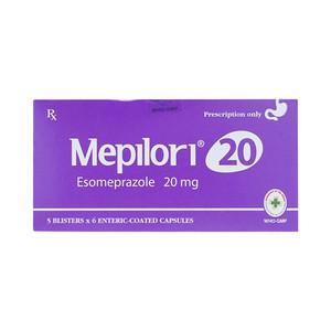 Thuốc mepilori 20mg là thuốc gì? có tác dụng gì? giá bao nhiêu tiền?Thuốc mepilori 20mg là thuốc gì? có tác dụng gì? giá bao nhiêu tiền?