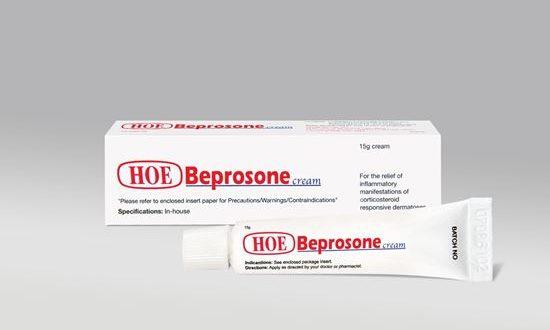 Thuốc beprosone cream 15g là thuốc gì? có tác dụng gì? giá bao nhiêu tiền?
