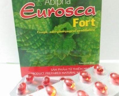 Thuốc eurosca fort là thuốc gì? có tác dụng gì? giá bao nhiêu tiền?