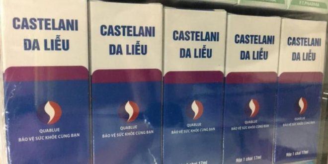 Dung dịch castellani 15ml là thuốc gì? có tác dụng gì? giá bao nhiêu tiền?