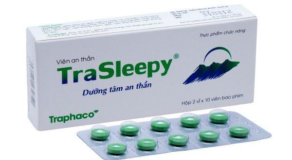 Thuốc trasleepy traphaco là thuốc gì? có tác dụng gì? giá bao nhiêu tiền?