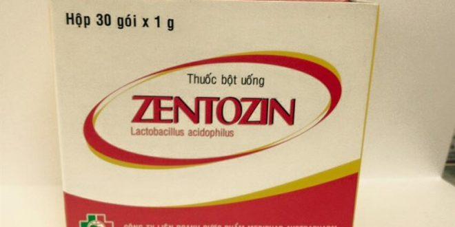 Thuốc zentozin là thuốc gì? có tác dụng gì? giá bao nhiêu tiền?