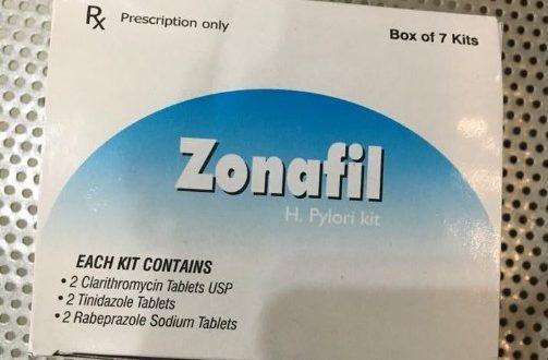 Thuốc zonafil là thuốc gì? có tác dụng gì? giá bao nhiêu tiền?