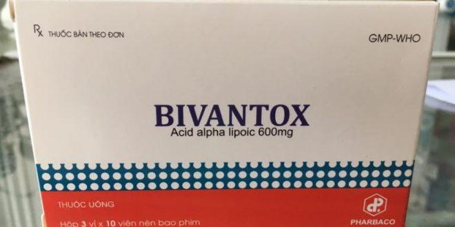 Thuốc bivantox 300mg là thuốc gì? có tác dụng gì? giá bao nhiêu tiền?