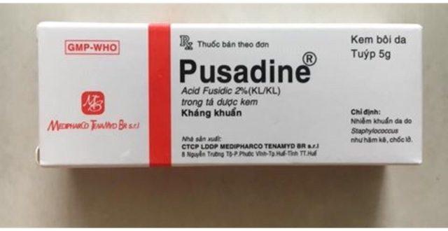 Thuốc pusadine 5g là thuốc gì? có tác dụng gì? giá bao nhiêu tiền?