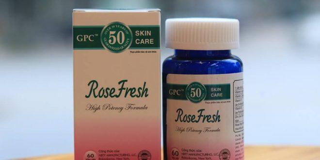 Thuốc rose fresh là thuốc gì? có tác dụng gì? giá bao nhiêu tiền?