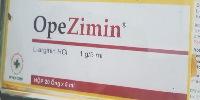 Thuốc opezimin 5ml là thuốc gì? có tác dụng gì? giá bao nhiêu tiền?