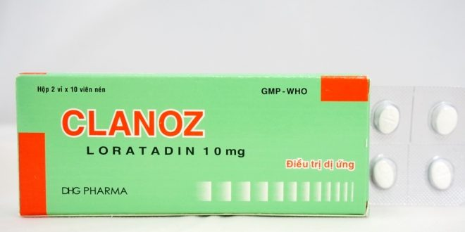 Thuốc clanoz 10mg là thuốc gì? có tác dụng gì? giá bao nhiêu tiền?