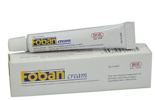 Thuốc foban cream 5g là thuốc gì? có tác dụng gì? giá bao nhiêu tiền?