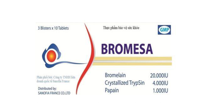 Thuốc gmp bromesa là thuốc gì? có tác dụng gì? giá bao nhiêu tiền?